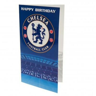 Chelsea FC Birthday Card (football club souvenirs memorabilia)