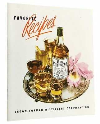 Vintage COCKTAIL BOOKLET Old Forester Early Times Kentucky Dew King L&G