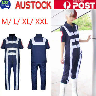My Boku no Hero Academia Kohei Horikoshi Gym Suit Cosplay Costume Uniform OZ