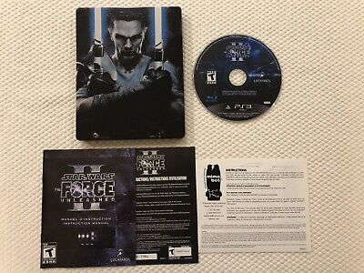Star Wars The Force Unleashed II Collector's ( Sony Playstation 3 )PS3 ,Complete