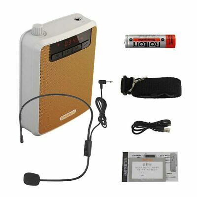 Rolton Voice Loud Booster Amplifier Microphone Teaching Speaker with Waistband