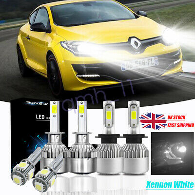 For BMW 3 Series E91 100w Super White Xenon Low Dip Beam Headlight Bulbs Pair