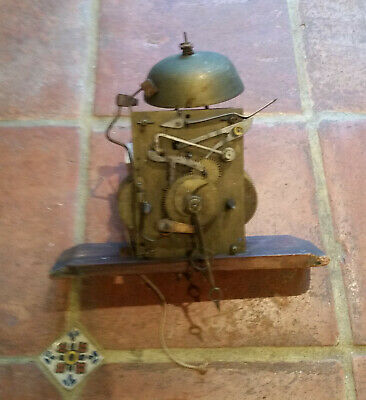 Antique Swedish Mora Clock Mechanism