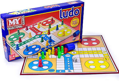 My Traditional Family Board Game Ludo Party Fun Game Set Childrens Kid Xmas Gift