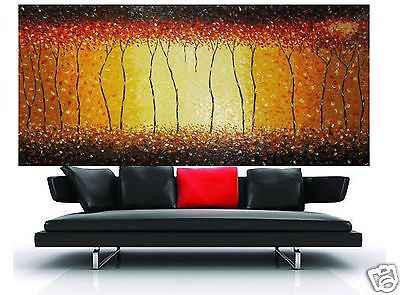 Art oil Painting 280cm Australia Abstract Bush Fire Dream Landscape original