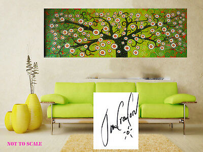 Painting Canvas Tree oil  forest abstract Australia original Art original