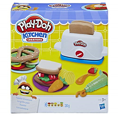 Play-Doh Kitchen Creations Toaster Creations Set Playdoh New & Sealed FREE POST