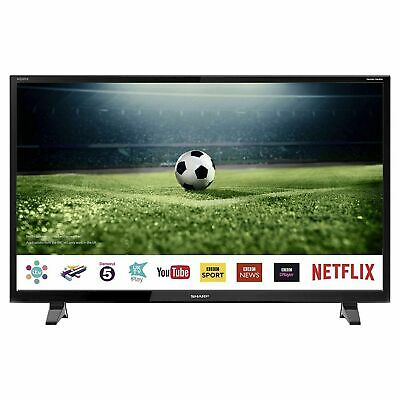 "Sharp 40"" Inch Smart LED TV Full HD 1080p Freeview Play Netflix - LC-40FG2241KF"