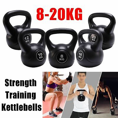 Neoprene Kettlebell Cast Iron Weights Home Gym Fitness Aerobic Exercise Iron AN