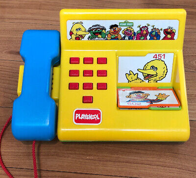 PLAYSKOOL   Vintage  1993  SESAME STREET  ~  TALKING PHONE   ~ Free shipping