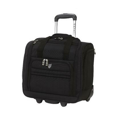 Travelers Club 16 Rolling Underseat Carry-on luggage restrictions Black
