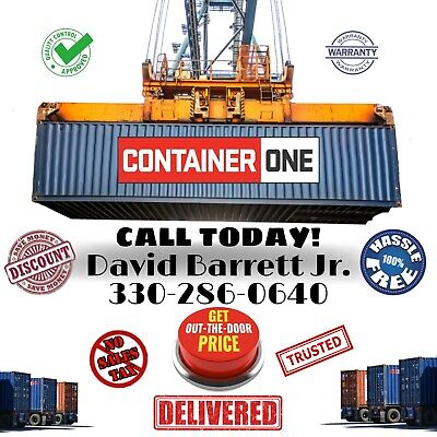 Shipping Storage Conex Container Portable Steel Box Construction WWT CW 1Trip
