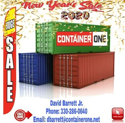 Shipping Storage Containers WWT CW 1Trip Conex Steel Box Portable HC Crate Shed