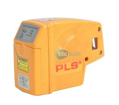 PLS Laser PLS-60541 PLS 5 Laser Level Tool, Yellow Grade F