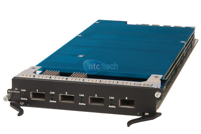 Foundry / Brocade NI-MLX-10Gx4 NetIron 4-Port Xfp GBIC No Xfp Included