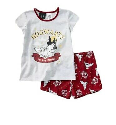 Boys Girls size 5 HARRY POTTER Hogwarts summer  pyjamas  pjs  NEW  unisex