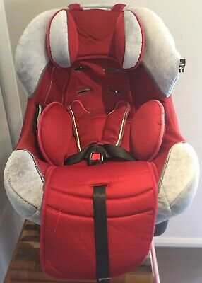 Infa Secure Turn A Tot 0 to 8 Years Convertible Car Seat - Grey And Red