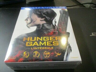 """Coffret Collector 8 Blu-Ray + 1 Dvd Neuf """"Hunger Games - L'integrale"""""""