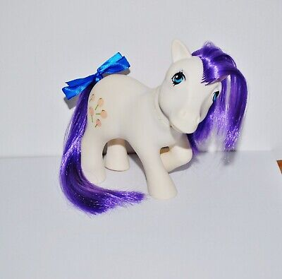Mio Mini Pony My Little Pony G1 Vintage Nirvana Purple Tootsie Italy Italian