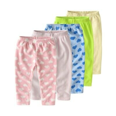 Kids Girls Harem Casual Soft Fleece Cute Pants Trousers For Spring Sport Joggers