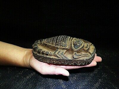 EGYPTIAN ANTIQUES ANTIQUITY Scorpion Selket Serket Sculpture 3150-3101 BC