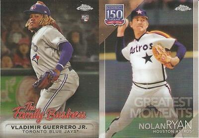 2019 Topps Chrome Update Retail Inserts ***You Pick***