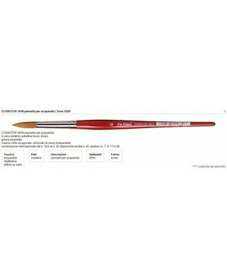 Da Vinci Brush for Watercolour Cosmotop-Spin in Synthetic fur Series 5580 N° 00