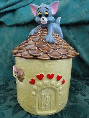 Tom and Jerry Cookie Jar Gorham MGM 1981 Cat and Mouse
