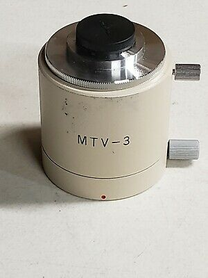 Olympus MTV-3 C-Mount Camera Adapter for BH Series Microscope-W/Lens
