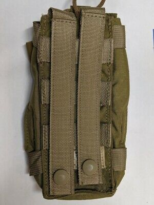 US ARMY Military Ranger PRC 148 MBITR RADIO POCKET POUCH OD GREEN EAGLE IND XC