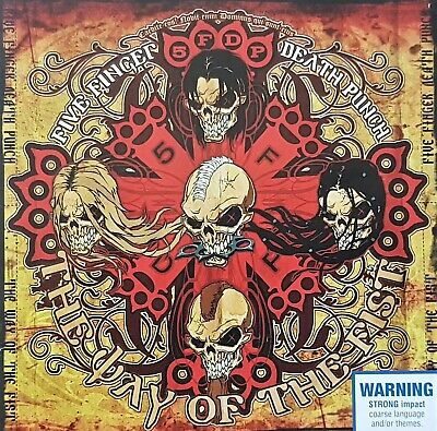 Five Finger Death Punch - Day Of The Fist - Oz Spinefarm Label Groove Metal Cd