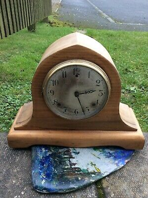 Large Antique Gilbert 25 Mantel Clock W/Key 8 Day,Cleaned,Oiled,Full Working Con