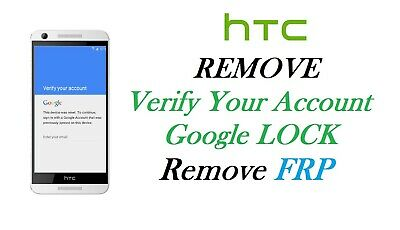 HTC FRP Google account unlock service, remote, all HTC models supported