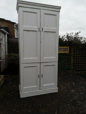 Large Painted Victorian House Keepers Cupboard/larder cupboard