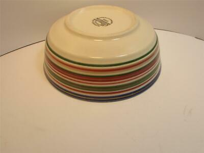 Gibson Everyday China GID163 Cereal/Soup Bowl Multi Color Rings