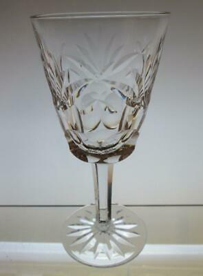 "Set of Four (4) Waterford Crystal ""ASHLING"" White Wine Glasses (1st Quality)"