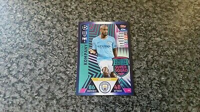 Match Attax Ucl 2018/19 Le2 Vincent Kompany Super Squad Limited Edition Mint