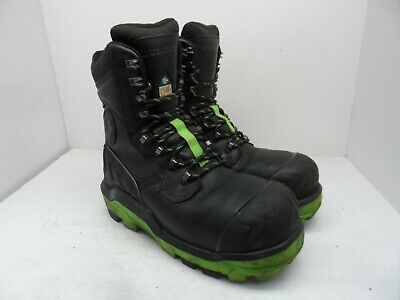 DUNLOP Men's 8'' Composite Toe Composite Plate Leather Work Boots DLNA16100 11M