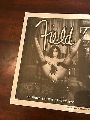 1991 VINTAGE 8X11 PRINT Ad FOR PAT PATRICIA FIELD CLOTHING EAST 8TH ST NY SEXY!!