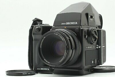 【MINT+++】 Bronica SQ-Ai  W/ PS  80mm  f/2.8 AE Finder  Moter Grip from Japan 891