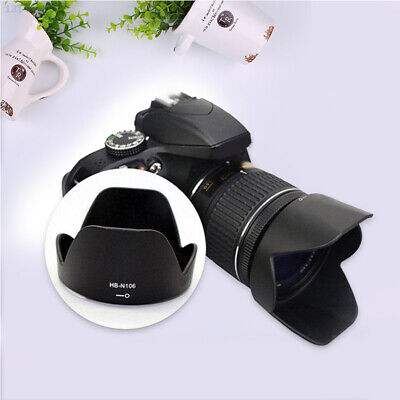 D3300 Lenses Lens Hood Camera Protection for Nikon 18-55mm Canon Accessories