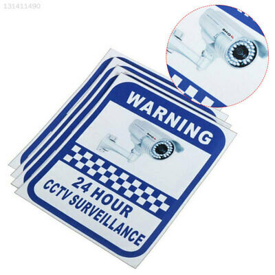 D126 Sticker Pack Small Stickers Surveillance CCTV Warning Sign Security