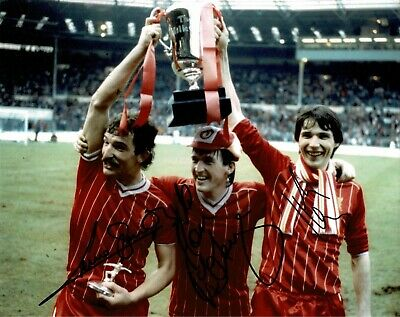 Liverpool 10 X 8 Photo Signed By Souness Dalglish & Hansen