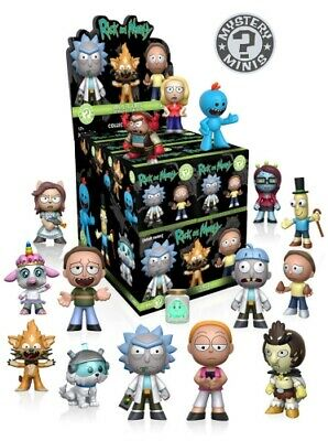 Funko Pop Mystery Mini Vinyl Figures - RICK & MORTY Series 1 - CHOOSE YOURS