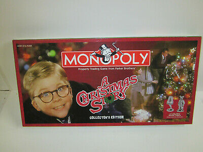 A Christmas Story  Monopoly 2007 board game special Edition unused