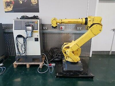 industrial Fanuc M710iC 50 robot with R30iA controller