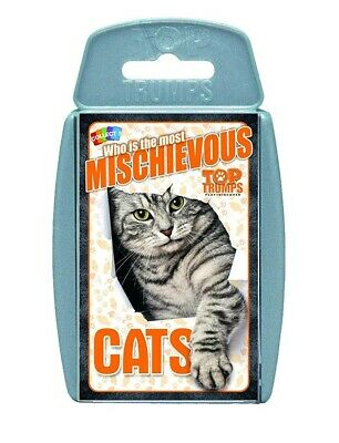 Top Trumps Cats Card Game - Who Is The Most Mischievous?