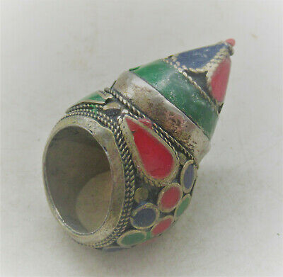 Wonderful Late Medieval Islamic Ottomans Seal Ring With Carnelian Stone Huge