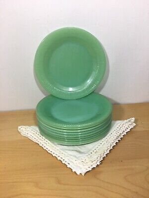 Anchor Hocking Fire King Jadeite Salad Plate