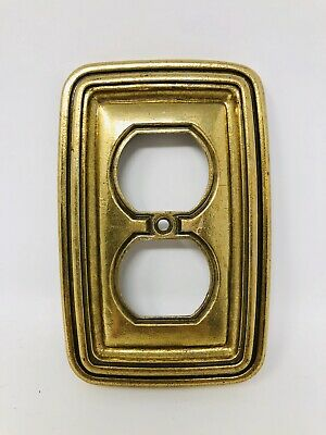 Antique Vintage Brass Outlet Cover Light Switch SS19